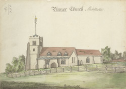 Pinner church, Middlesex